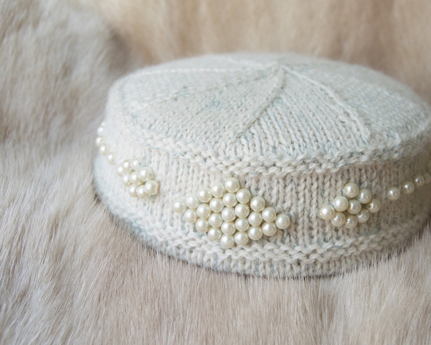 The Camille Pillbox Hat