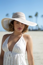 Colette Sun Hat at the Beach