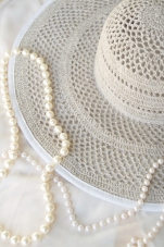 Colette Sun Hat in Natural sm